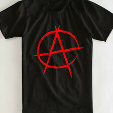 'Anarchy' T-shirt-ALL SIZES: Rebel/Rock/Goth/Punk/Metal/Biker//Retro/VintageGIFT