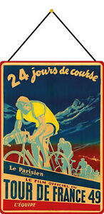 Film-Tour-de-France-49-Sign-with-Cord-Metal-Tin-Sign-7-8x11-13-16in-FA1784-K