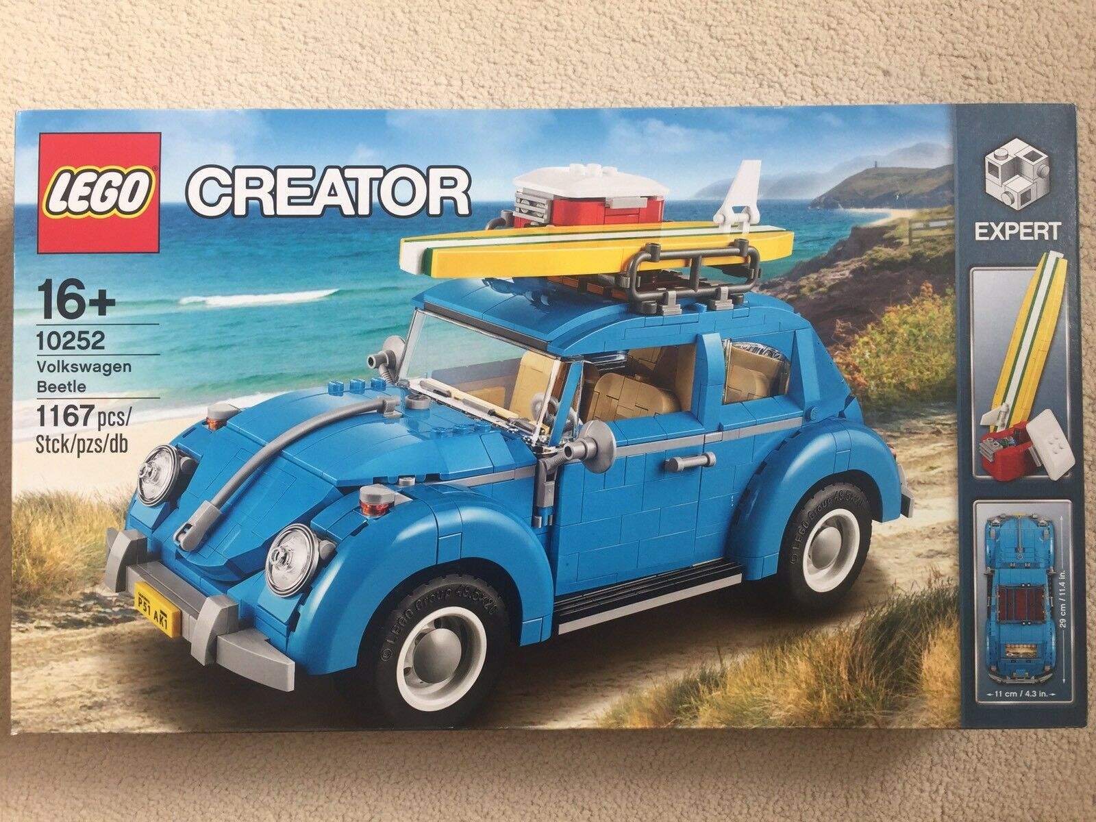LEGO  VOLKSWAGEN BEETLE (10252) - TOYS BRAND NEW FREE DELIVERY