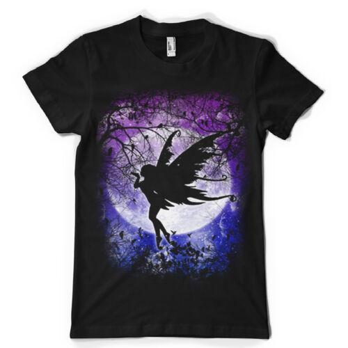 fairy ursula birds cloud fairy forest layers pixie dust  dtg mens t shirt tees