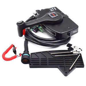 details about for mercury outboard engine side mount remote control box with 14 pin marvellousSide Mount Control Box Including Mercury Outboard Remote Control Parts #9