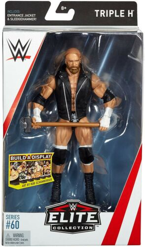 Elite Series 60 Triple H figurine entrée Veste /& Sledgehammer