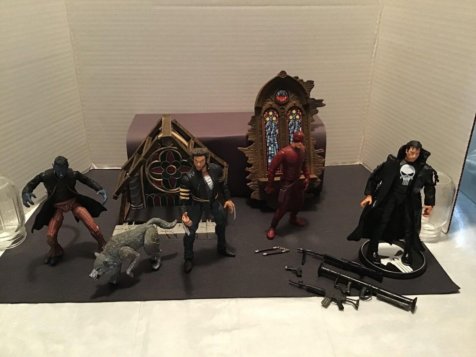 Juguetebiz Marvel Movie Figuras 4 Pack