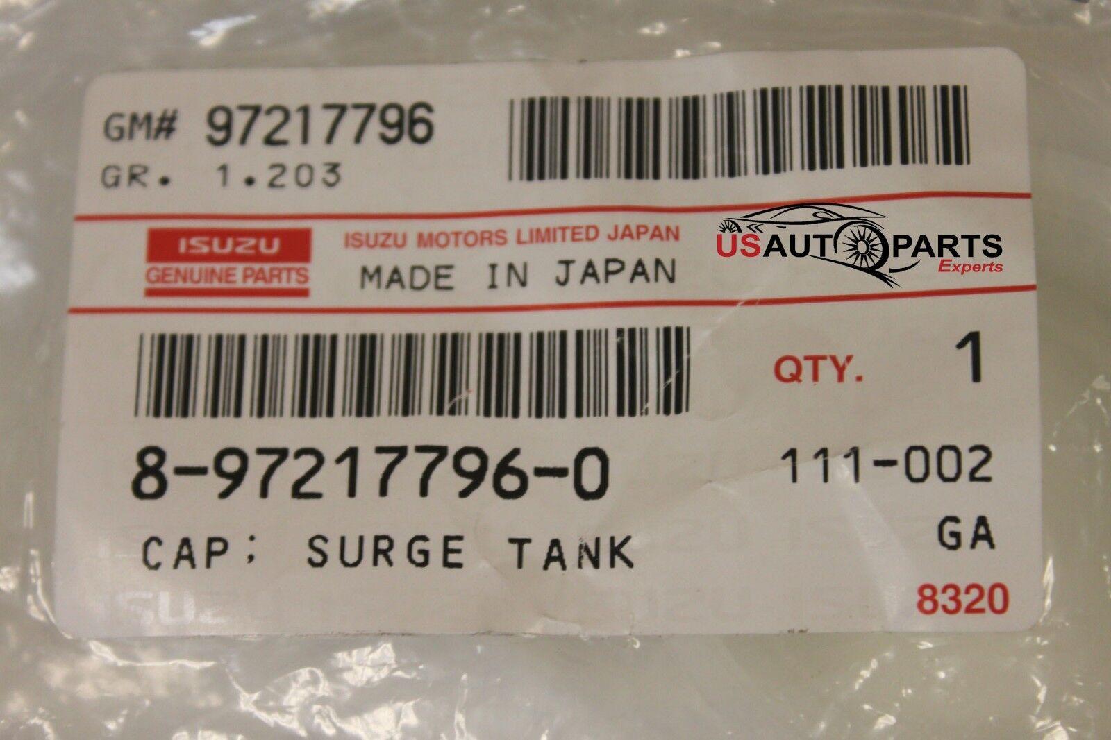 Cap Surge Tank 8-97217-796-0