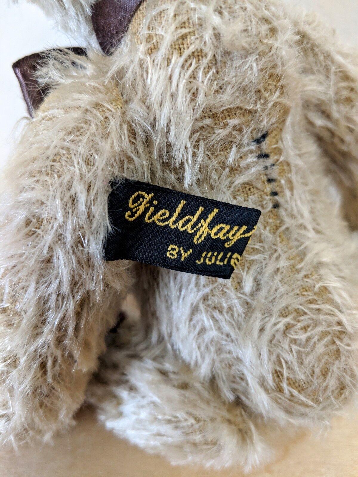 Fieldfayre orsi by Julie Julie Julie TONKIN Mohair 20cm MOLTO RARA 8d0bac