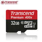 Transcend Class 10 - MicroSDHC Card - (TS32GUSDU1)