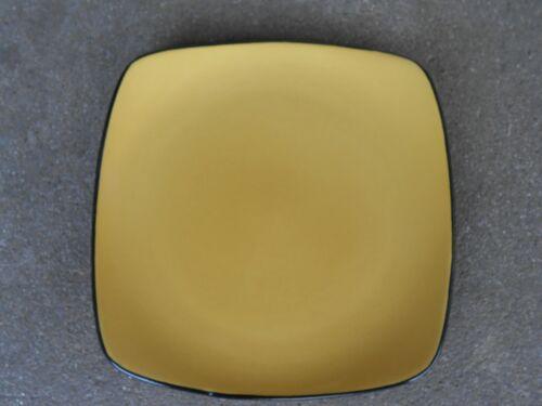 "Corelle SQUARE Stoneware Hearthstone Yellow 8 3//4/"" SALAD PLATE Corning"