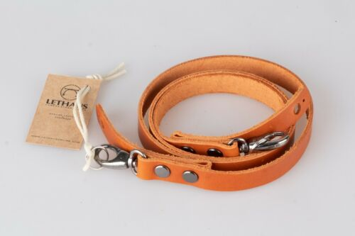 LEATHER CAMERA STRAP WITH HOOK LETHAUS CONIAC