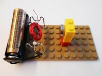 Diy Simple Conventional Motor Kit 16 Science Fair Project Electricity Magnetism