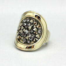 Dyrberg Kern Ring DEANNA II SG Grey with Swarovski Elements/crystal, 89€, Gr.2