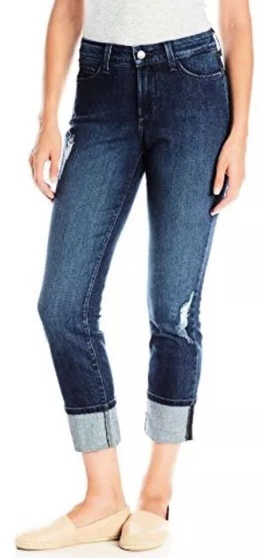 10 NOT YOUR DAUGHTERS JEANS NYDJ LORENA BOYFRIEND JEANS IN REDDING