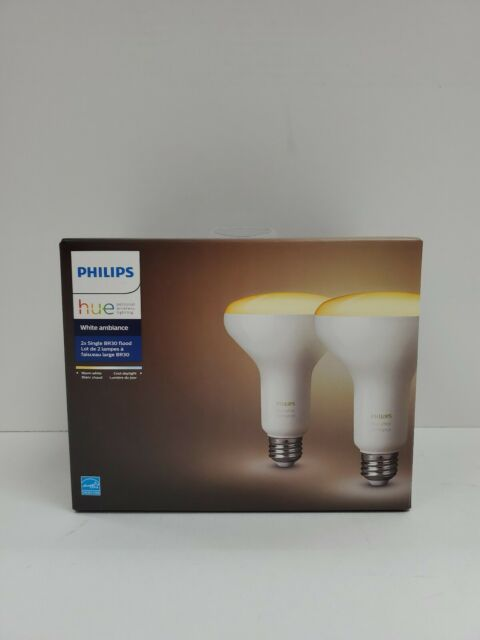 PHILIPS HUE Personal Wireless Lighting White Ambiance Incl 2x BR30
