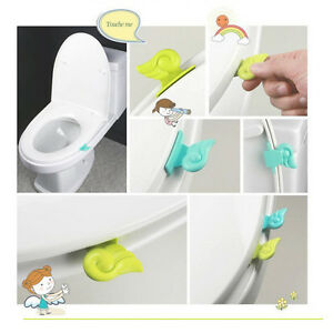 Shopsimple Toilet Seat Lifter Handle Hygienic Clean Lift Lower Self Adhesive