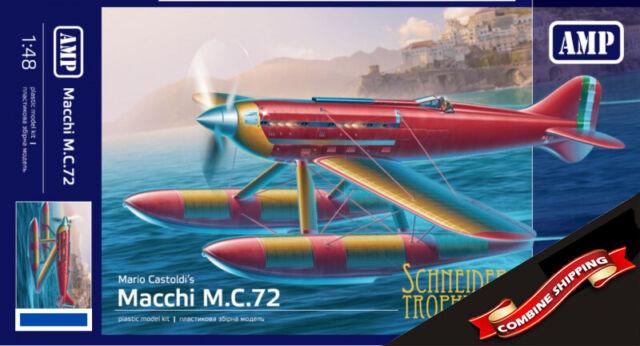 AMP 48018 Mario Castoldi's Macchi M.C.72 plastic model kit 1/48