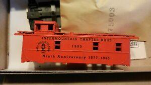 Athearn-HO-NRHS-Ltd-Run-Mile-High-Convention-Caboose-Kit-NIB