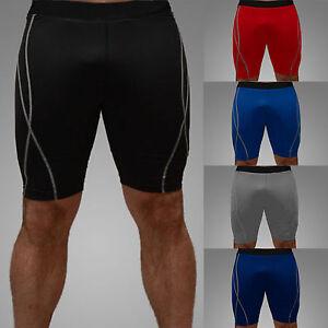 herren fitness shorts kompressions kurz hosen laufhose. Black Bedroom Furniture Sets. Home Design Ideas