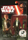 Star Wars (The Force Awakens Han Solo - 3.75 Inch Action Figure + Free Post)