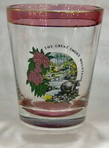 Vintage-The-Great-Smoky-Mountains-Shot-Glass-4844