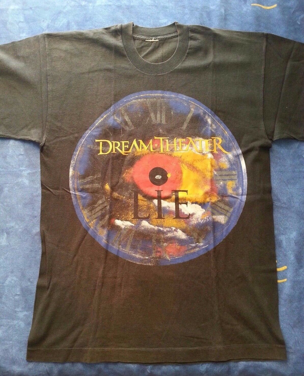 RARE Dream Theater Official Vintage t-shirt / Awake / Lie / Empire / Prog Metal