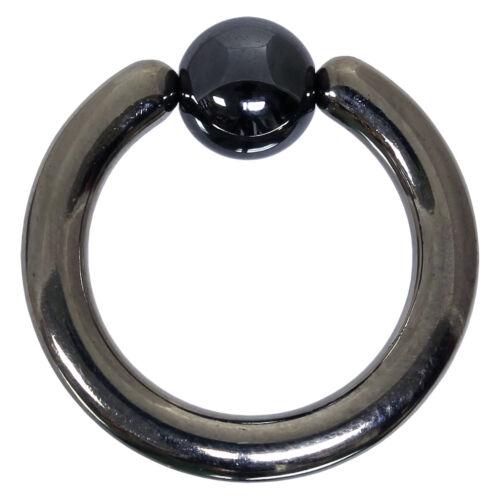 {PiA} Klemmkugelring BCR 3,0 mm aus G23 Titan in silber Piercing Intimpiercing