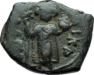 CONSTANS-II-Pagonatos-641AD-Authentic-Ancient-Byzantine-Medieval-Coin-i66085