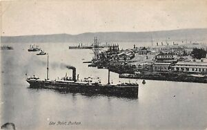 POSTCARD-SOUTH-AFRICA-DURBAN-HARBOUR-THE-POINT-RP