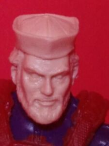 MH135 Cast Action figure head sculpt for use with 1:18th scale GI JOE Military