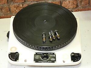 Garrard 301 Öl Lager Record Deck Player Plattenspieler + Original Papiere etc