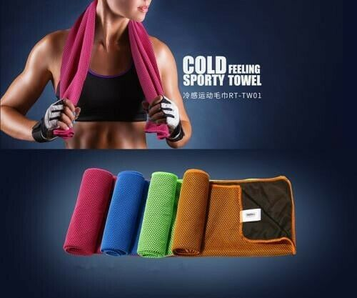 Remax Cold Feeling Sporty Quick Dry Towel Breathability Yoga Gym