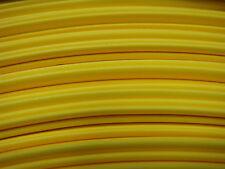 "1ft-10ft+ 3/4"" YELLOW 2:1 Ratio Flexible Polyolefin Heat Shrink Tubing USA MADE"