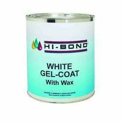 Evercoat Hi Bond White Gelcoat With Wax 1 Gallon Boat
