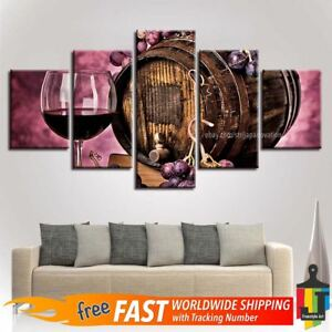 Image Is Loading 5 Pieces Home Decor Canvas Print Wall Art