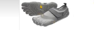 Vibram Fivefingers V-Aqua gris Hombres Tamaños 39-49    nuevo