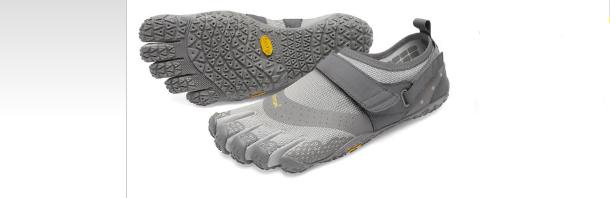 ab8f19704e5f Vibram V-aqua Grey Mens Exercise Fitness Shoes Size 42m