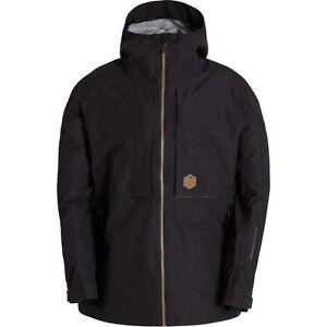 BILLABONG-Men-039-s-BODEMAN-Snow-Jacket-Black-Large-NWT
