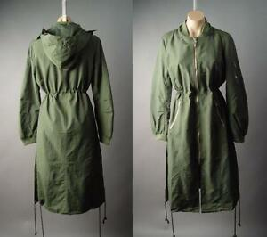 M Bomber Hoodie L Anorak Military 206 Jacket Long Xl Mv Parka S Frakke Army Green qH7w11