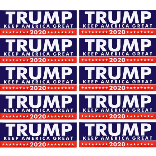 1-200 PCS Donald Trump President 2020 Bumper Sticker Keep Make America Great