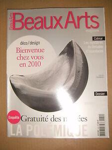 Beaux Arts Magazine N°282 Retable D'issenheim Lee Bul Jeppe Hein Rogers Pancin Pour Assurer Des AnnéEs De Service Sans ProblèMe