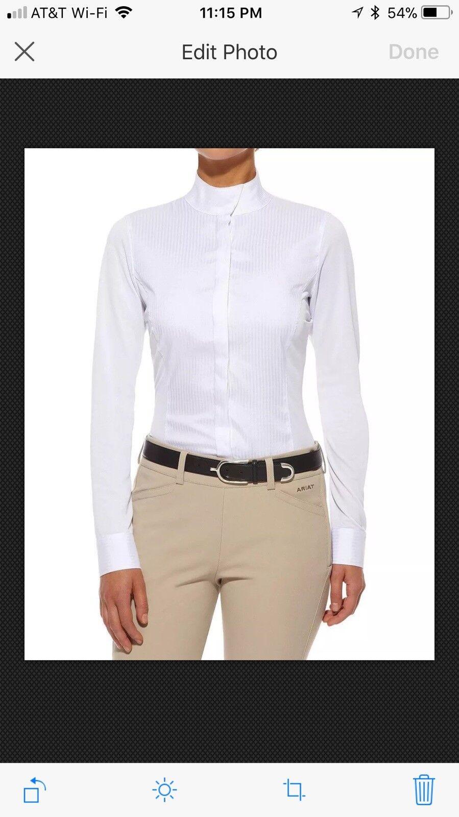 Ariat triunfo mostrar Camisa de mujer talla talla talla 34 Nuevo 4bfcac