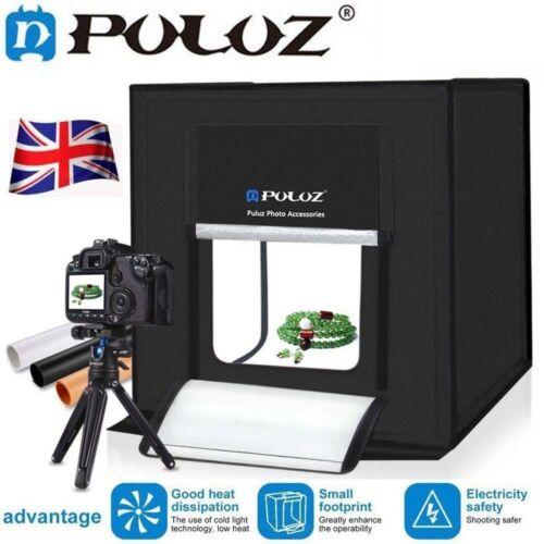Puluz Studio Light Portable Photography Box Photo Mini 60/40 DEL Tente pliable