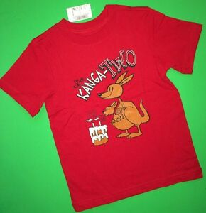 Details About NEW 2nd Birthday 2 Years Baby Boys Graphic Shirt 18 24 Months Gift Kanga SS