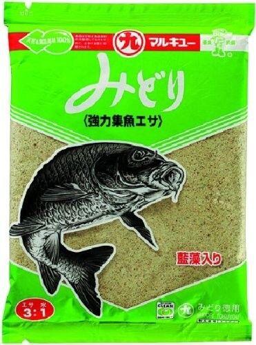 MARUKYU MIDORI Carp kneads bait all-around bait 270g