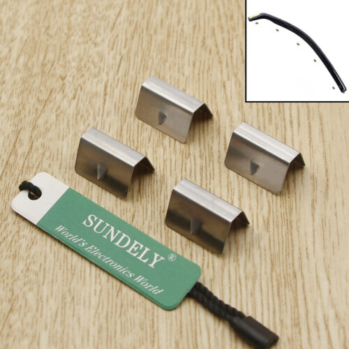 Channel Rain Wind Deflector CLIPS For HEKO SNED G3 Climair iSpeed Metal 4Pcs