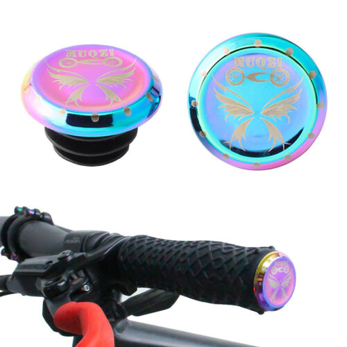 Cycling Bike Handlebar Bar End Plugs Mountain BMX MTB Bicycle Grip Ends Caps