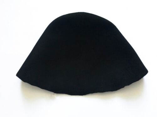 Wool Felt Hat Cone Hood for Millinery in 5 Colours