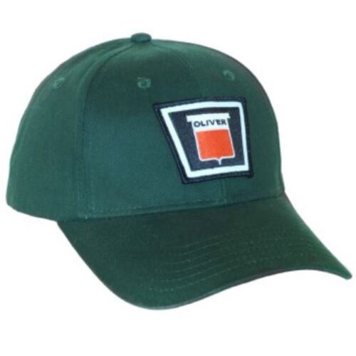 Oliver New Logo Tractor 6 Panel Green Hat Cap Gift Fits Most