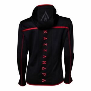 ASSASSINS-CREED-ODYSSEY-TECHNICAL-DARK-HOODED-ZIP-HOODIE-BLACK-RED-X-LARGE
