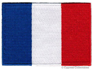 FRENCH-FLAG-embroidered-iron-on-PATCH-FRANCE-EMBLEM-new-APPLIQUE-PARIS-SOUVENIR