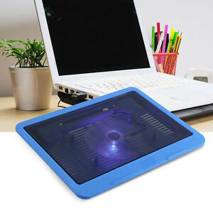 Portable-Laptop-Notebook-USB-Cooler-Cooling-Pad-Base-Stand-Powerful-Fan-Radiator
