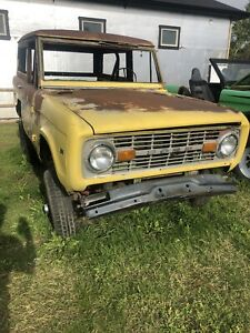 Old Bronco wanted